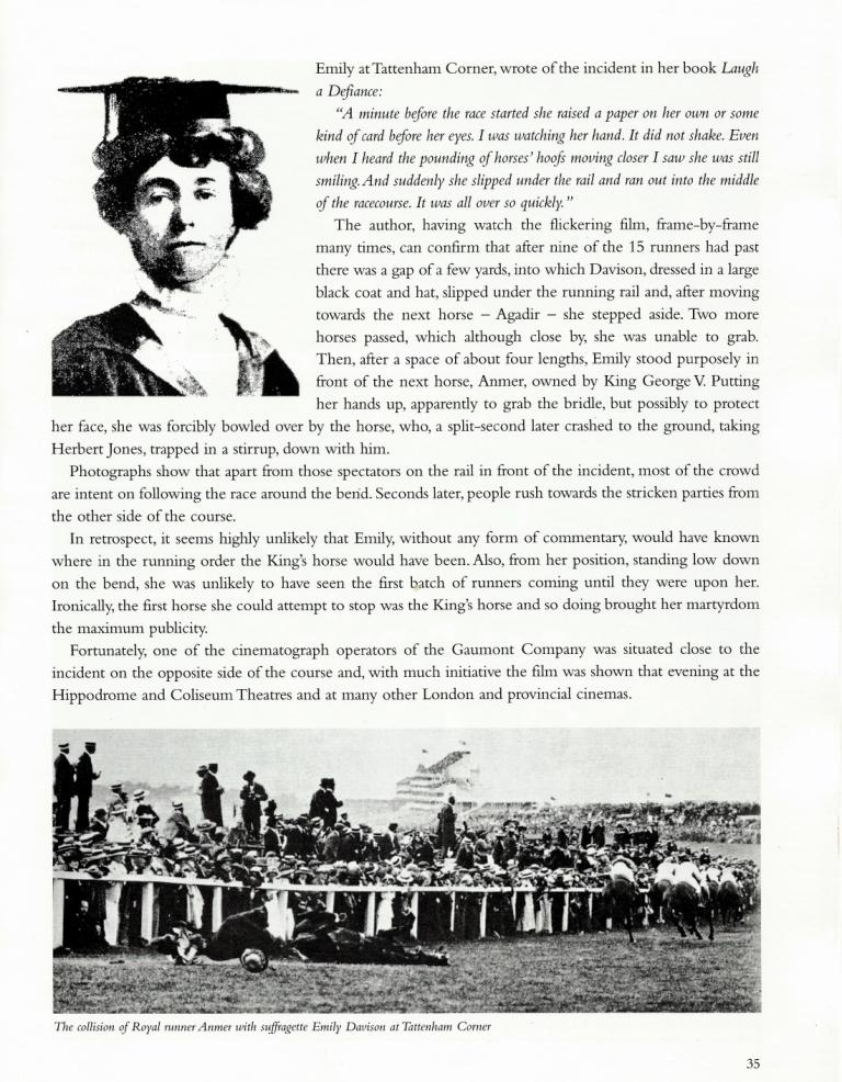 Suffragette  1913 Derby - p3