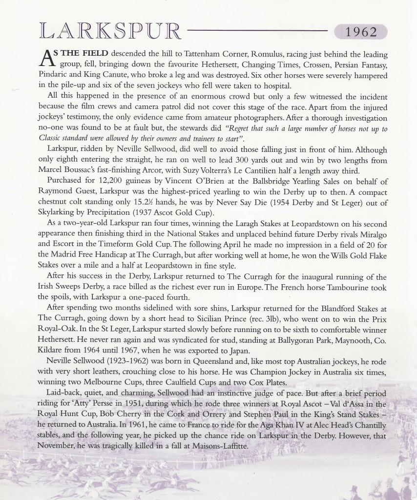 Larkspur essay